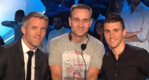 Chauffeur de Salle pour le Canal Football Club avec Mickaël Landreau et Sébastien Corchia LOSC dim 11 sept 2016