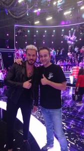 Chauffeur de Salle pour The Voice Kid's la Finale samedi 8 octobre 2016 sur TF1 avec Matt Pokora
